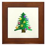 Christmnas Tree Framed Tile