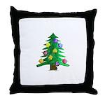 Christmnas Tree Throw Pillow