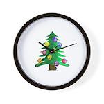 Christmnas Tree Wall Clock