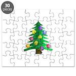 Christmnas Tree Puzzle