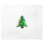 Christmnas Tree King Duvet