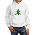 Christmnas Tree Hoodie Sweatshirt