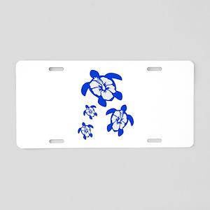 NEW HORIZONS Aluminum License Plate