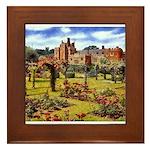 Compton Wynyates Garden Framed Tile