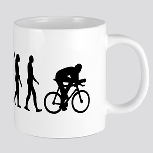 Evolution cycling bike Mugs