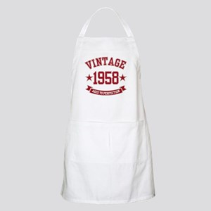 1958 Vintage Aged to Perfection Apron