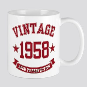1958 Vintage Aged to Perfection Mug