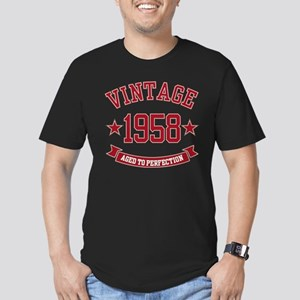 1958 Vintage Aged to Perfection Men's Fitted T-Shi