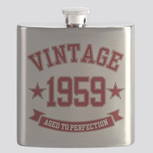 1959 Vintage Aged to Perfection Flask