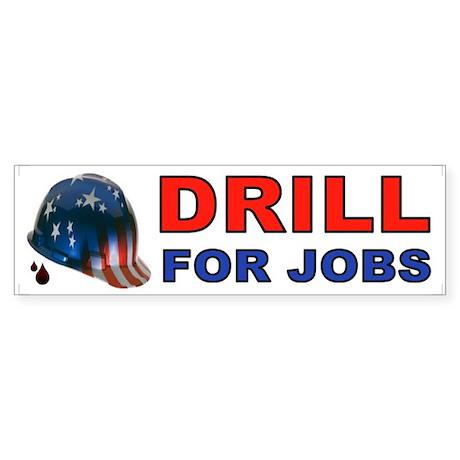 DRILL BUMPER Bumper Sticker