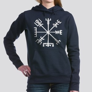 Viking Compass : Vegvisir Hooded Sweatshirt