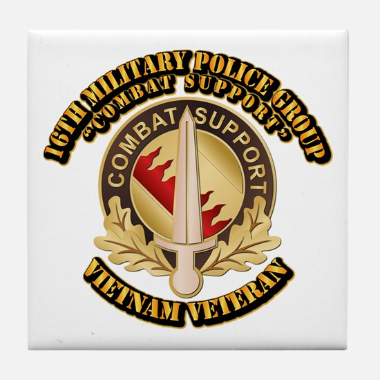16th Military Police Group Tile Coaster
