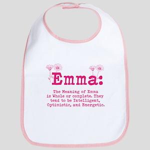 Emma Personalized Name Bib