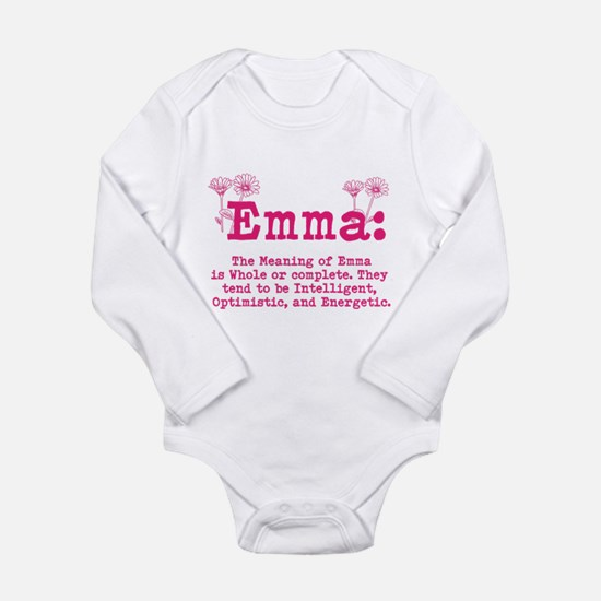 Emma Personalized Name Body Suit
