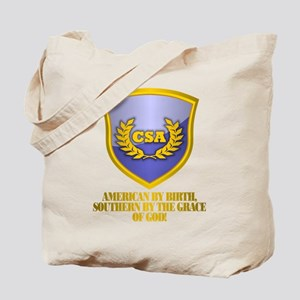 Southern By The Grace Of God Tote Bag