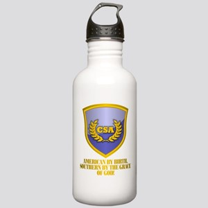 Southern By The Grace Of God Water Bottle