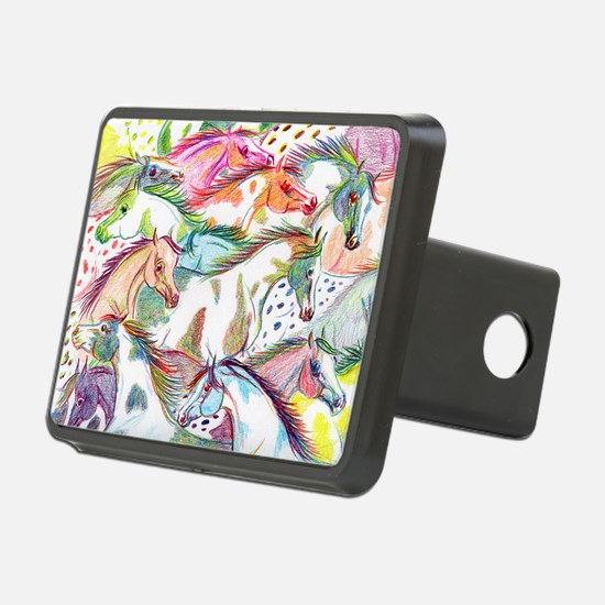 horses of color Hitch Cover