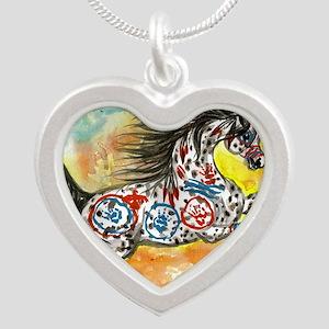 windwalker1 Silver Heart Necklace