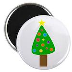 Merry Christmas Tree Magnet