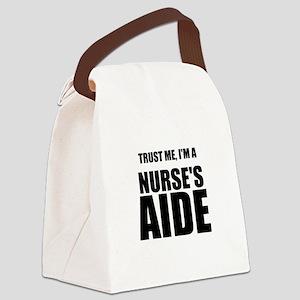 Trust Me, Im A Nurses Aide Canvas Lunch Bag