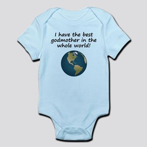 Best Godmother In The World Body Suit