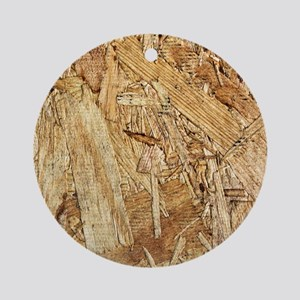 Plywood Grain 1 Ornament (Round)