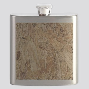 Plywood Grain 1 Flask