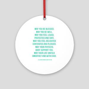 Loving Kindness Ornament (Round)