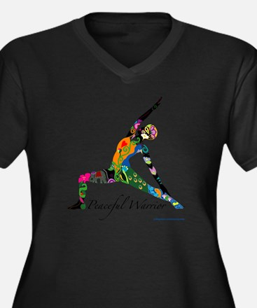 Peaceful Warrior by Nancy Vala Plus Size T-Shirt
