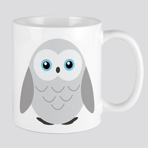 Sweet Snowy Owl Mugs