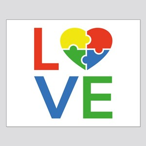 Autism Love Small Poster