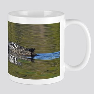 Loon reflection Mug