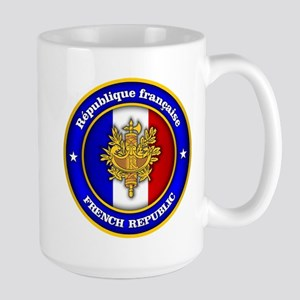 French Medallion Mugs