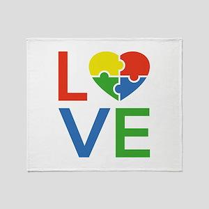 Autism Love Stadium Blanket