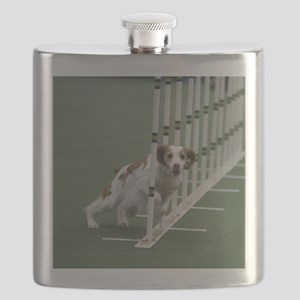 Brittany in Weaves Flask