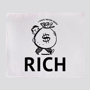 I Have Never Been Rich Stadium Blanket