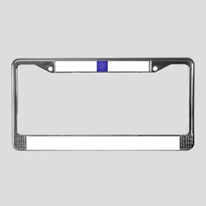 Chair Weave 5 License Plate Frame
