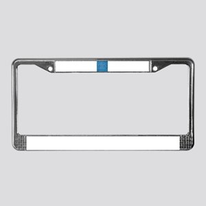 Chair Weave 6 License Plate Frame