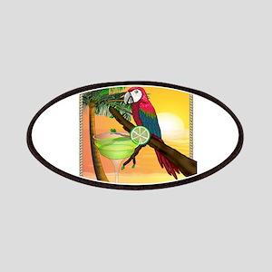 Macaw margarita Patch