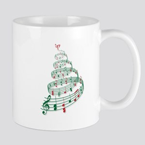 Music Christmas tree Mugs
