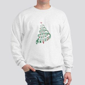 Music Christmas tree Sweatshirt