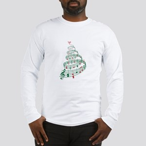 Music Christmas tree Long Sleeve T-Shirt