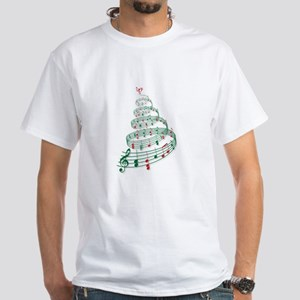 Music Christmas tree T-Shirt