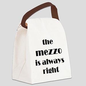 mezzo right Canvas Lunch Bag