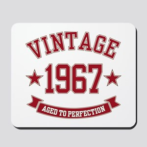 1967 Vintage Aged to Perfection Mousepad
