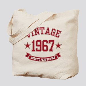 1967 Vintage Aged to Perfection Tote Bag