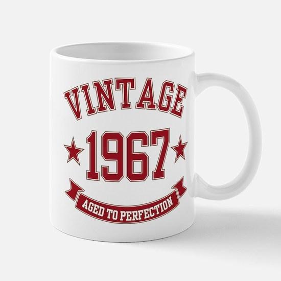 1967 Vintage Aged to Perfection Mug