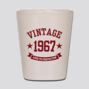 1967 Vintage Aged to Perfection Shot Glass