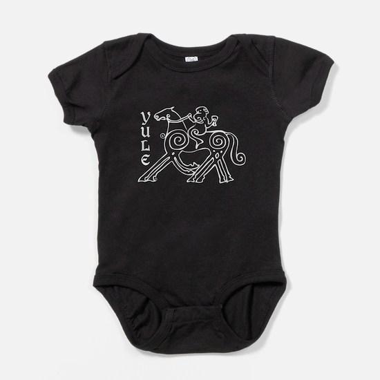 Yule Ride Baby Bodysuit