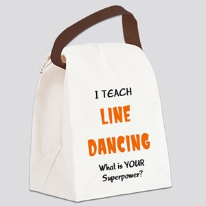 teach line dance Canvas Lunch Bag